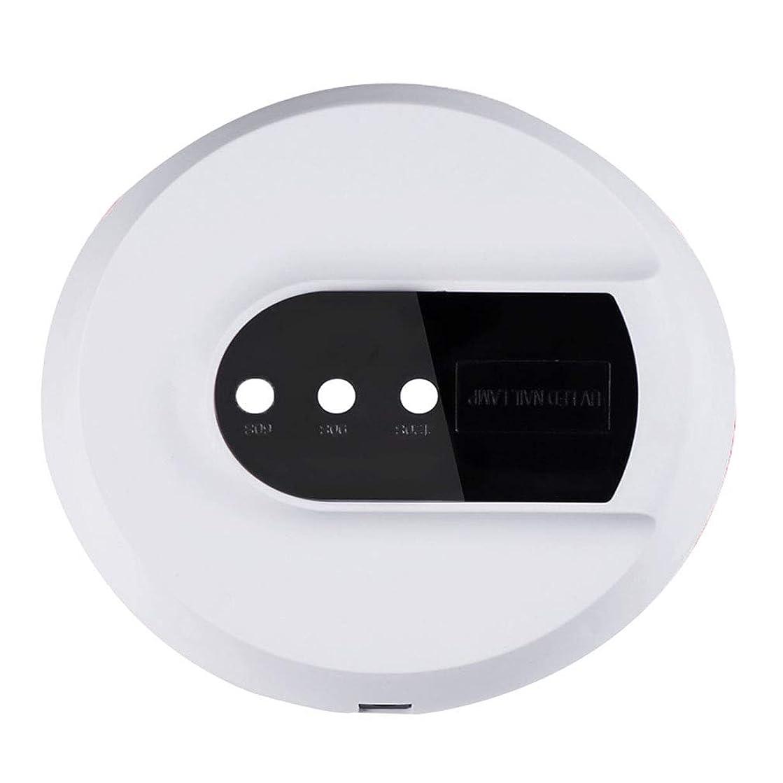 インドのどさびたネイルドライヤー36ワットuv ledネイルランプ光硬化装置速乾ファンファン用ネイルネイルアートスリータイマー付きセンサー