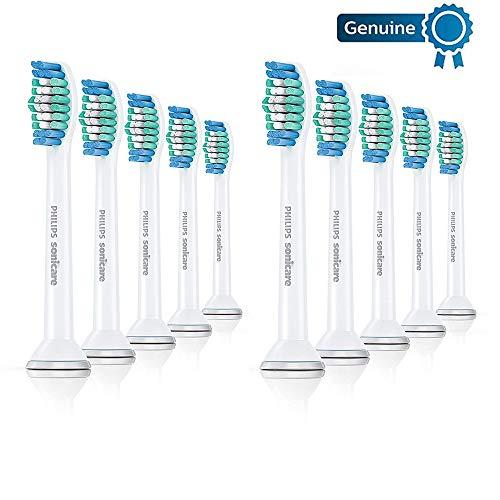 Philips Sonicare Original Basic Clean Cabezales para cepillo de dientes eléctrico, embalaje estándar mínimo (sin frustraciones), blanco
