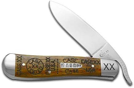Preisvergleich für case xx tang stamps curly oak wood russlock