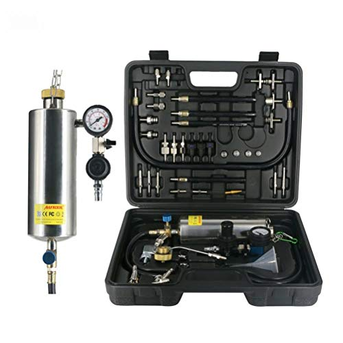 MRCARTOOL Bilar icke-förstörande bränsleinjektor rengörare och testare kit bil bränsleinjektor tvättverktyg kit för bensin EFI gasbilar