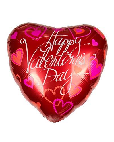 Horror-Shop Bonne Saint Valentin avec ballon feuille voeux