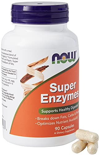 NOW Foods Super Enzymes -- 90 Capsules by Now Foods