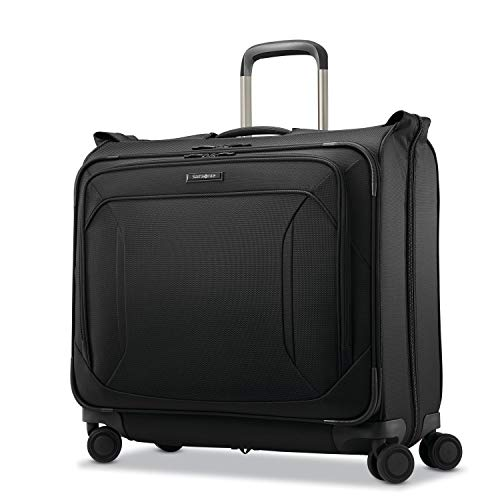 Samsonite Lineate Softside Duet Wheeled Garment Bag, Obsidian Black