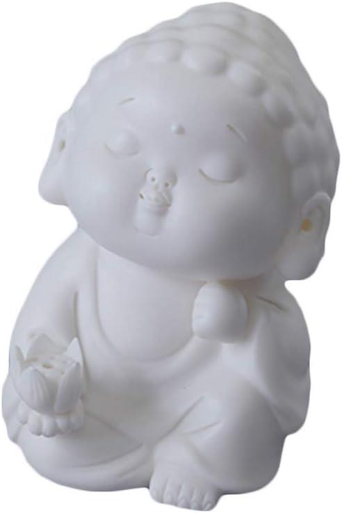 AMYZ Incense Burner Buddha Statue,Tea Pet Ceramic Decoration Bud