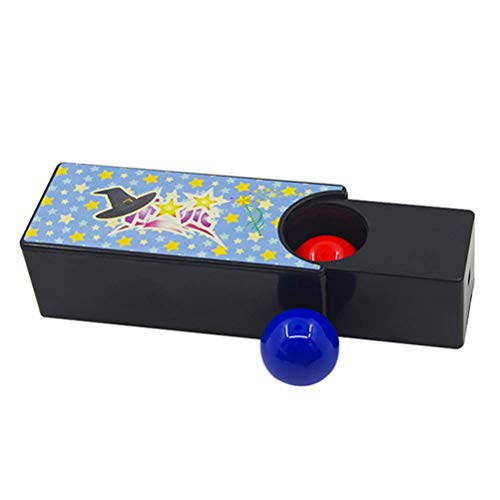 New Changeable Box Rotate The Red Ball In The Blue Ball Mystery Box Easy Toy for Kids Tricks Toy