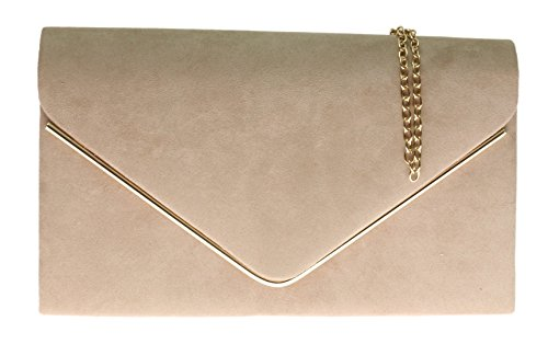Girly Handbags - Marco de fotos, Beige (color carne), Small