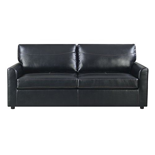 Emerald Home Slumber Black Sleeper Sofa review