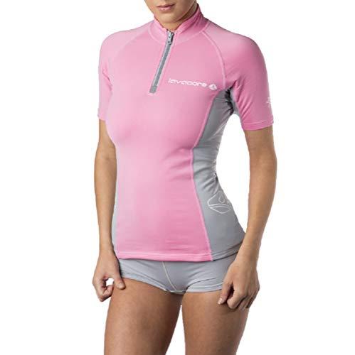 Oceanic Lavacore Lavaskin Damen Shirt für Tauchen, kurzärmelig