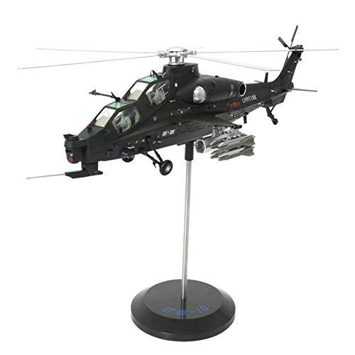 Hellery Giocattoli di Modello Dell'aeroplano Dell'elicottero del Giocattolo Dell'aereo da Militare del Metallo della Lega 1/48