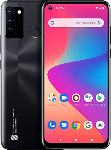 BLU G71 G0430WW 64GB Dual SIM GSM Unlocked Android Smart Phone - Black