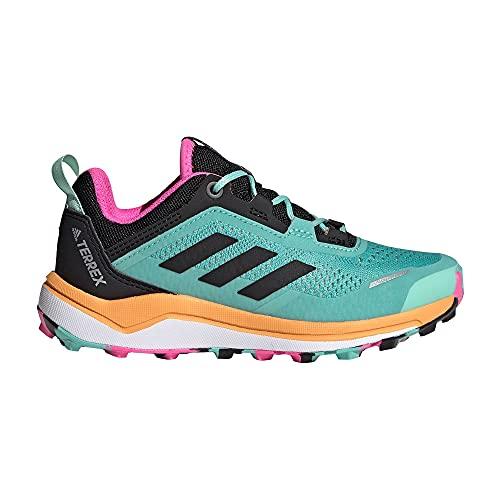 adidas Terrex Agravic Flow K,  Zapatillas de Trail Running Unisex Adulto,  MENACI/NEGBÁS/NARCHI,  39 1/3 EU