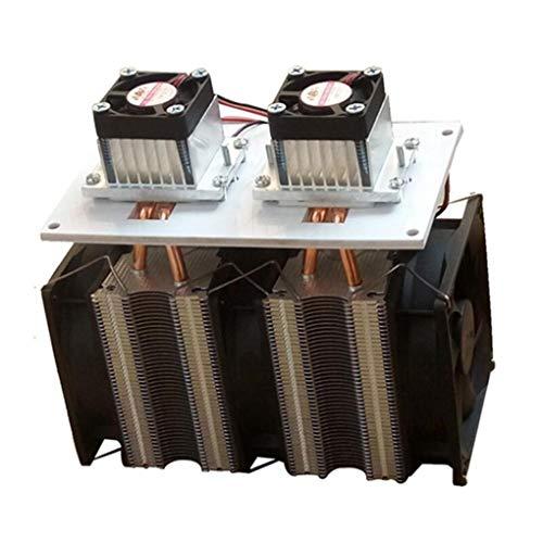 Yongse verbeterde versie 12 V 12 A 144 W DIY dubbele kop elektronische halfgeleiderkoeler radiator