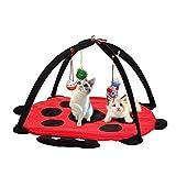 Árbol para Gatos Cama de Gato Pet Juguete de Juguete Muebles Casa Post Scratcher Play Condón Gatito Torre Nuevo