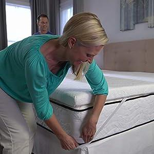 My Pillow Three-inch Mattress Bed Topper - By MyPillow (Queen)
