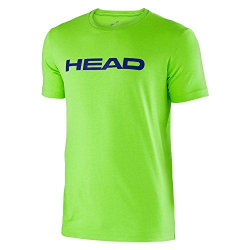 HEAD Kinder Oberbekleidung Ivan T-Shirt Junior, grün, 140