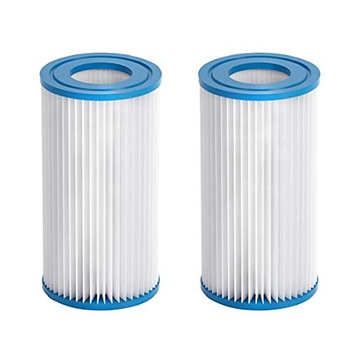 Hot tub filter opblaasbaar slimme spa poolbaden filter cartridges pompvervangingen 2 stks voor zwembaden