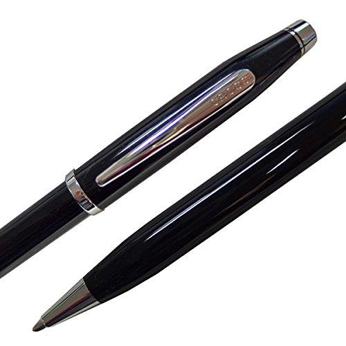 CROSS『センチュリーⅡブラックラッカーロジウムプレートボールペン(NAT0082WG-102)』