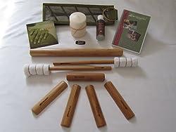 Bamboo massage kit