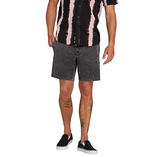 Volcom Short Flare Short - Homme Short Trousers - Black