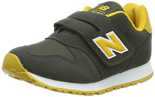 New Balance Yv373v1, Zapatillas para Niños, Verde (Green/Yellow Green/Yellow), 39 EU