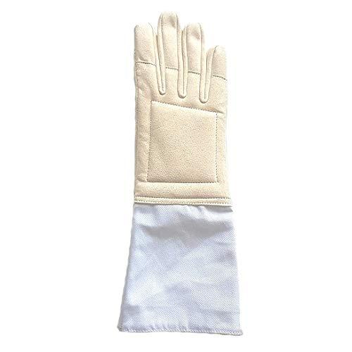 Gants Noirs et Blancs Escrime-Handschuhe für Anfänger, Sparklasse, beige, 8
