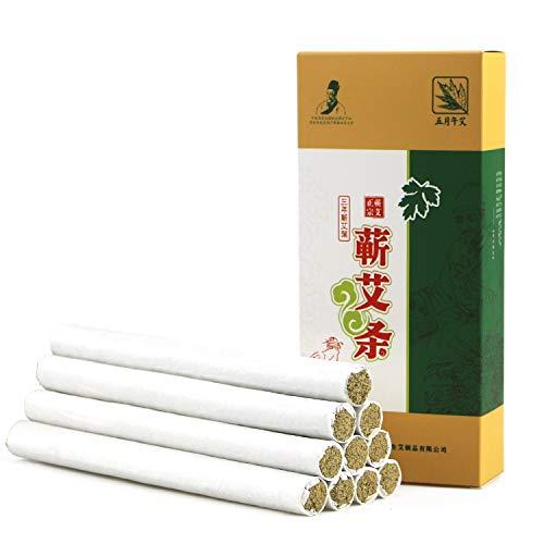 Palitos de Moxa, 3 Piezas De 3 Años De Moxa Rolls - Cigarros Puros Chinos Moxa Usando Natural Salvaje Artemisa Manual De Salud De Gaza Moxibustión Moxa Moxa Columna