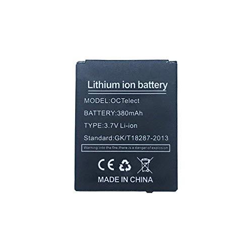 batteria smartwatch YUNIQUE Italia ® 1 Pezzo Batteria lipo Ricaricabile per Smartwatch LQ-S1 DZ09 da 3.7V 380mAh
