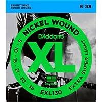 ダダリオ/D'Addario EXL130 Nickel Extra Super Light Electric Guitar Strings/アクセサリー【並行輸入品】
