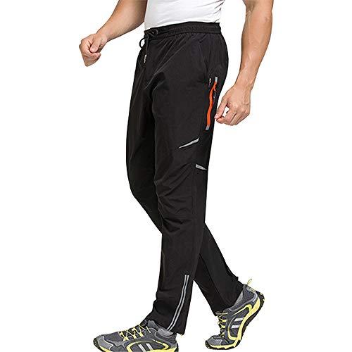 BeIM Herren Fahrradhose Leichte elastische Wanderhose Schnelltrocknende Hose