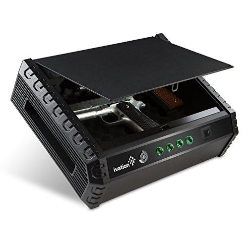 Stanley Gun Safe, Quick Access Digital Fits 2-Guns