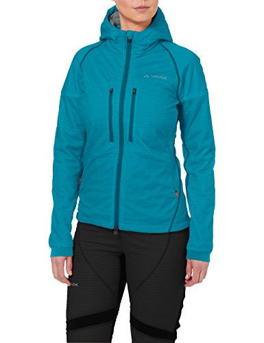 VAUDE Bormio Jacket Damen Jacke, Alpine Lake, 38, 05194
