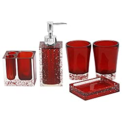 22 Red Bathroom Accessories Ideas You Should Check Out Home Decor Bliss