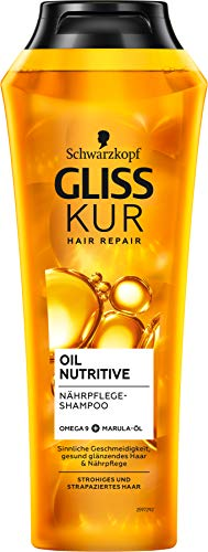 Gliss Kur Oil Nutritive Shampoo, 250 ml