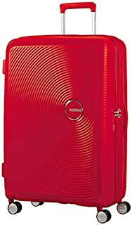 American Tourister - Curio 80cm Large Expandable Spinner - Magma Red