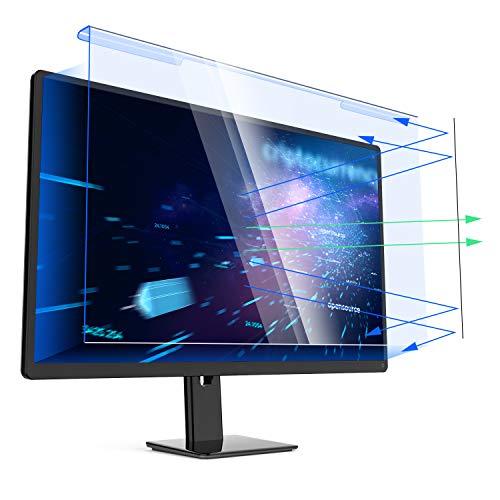 YIVIN 23-24 Zoll Universal Computer Blaulicht-Schutzfolie, Anti-Blau Anti-UV-Licht Augenschutz Filterfolie für 23