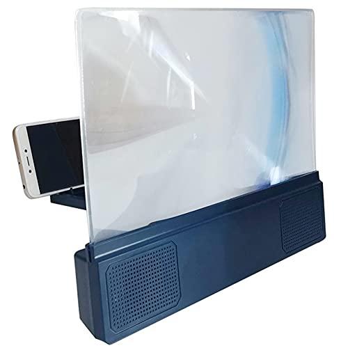 AERJMA Amplificador F5 de la pantalla del teléfono móvil con audio 6d Blu-ray Ultra Clear pantalla 12 pulgadas teléfono móvil lupa
