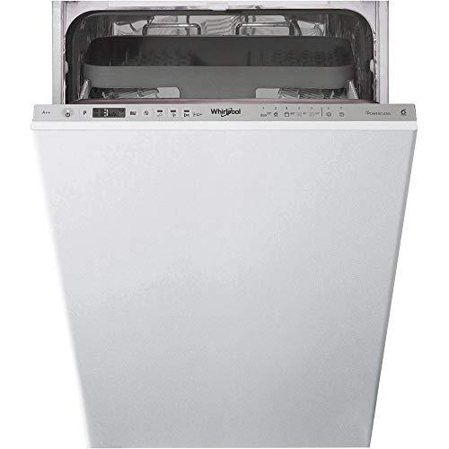Whirlpool WSIO 3T223 PCE X lavavajilla Totalmente integrado 10 cubiertos A++ - Lavavajillas (Totalmente integrado, Estrecho (45 cm), Acero inoxidable, Botones, 1,3 m, 1,55 m)