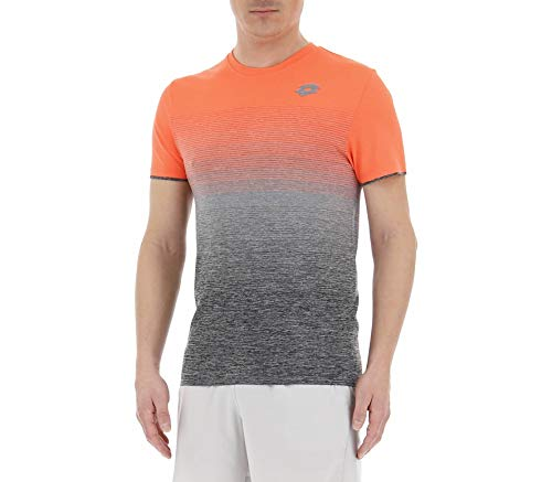 Lotto Sport, Court II Tee Homme S Orange/Black
