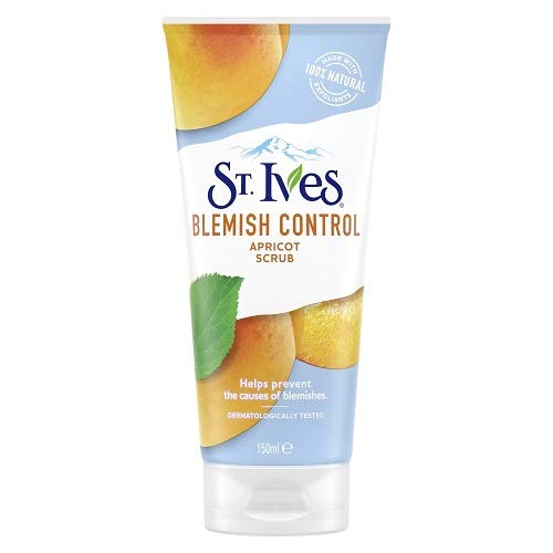 St. Ives Blemish Fighting Apricot Facial Scrub 150ml Pack of 3