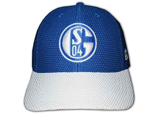 UMBRO FC Schalke 04 Fan Mesh Cap weiß blau S04 Basecap Bundesliga Kappe Mütze