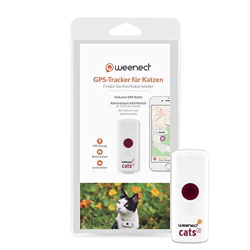 Weenect Cats 2 - Der weltweit kleinste GPS-Tracker für Katzen