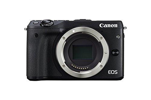 Canon EOS M3 Fotocamera Mirrorless da 24 Megapixel, CMOS, Versione EU, Ne