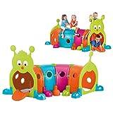 FEBER Febergus - Jeu d'exterieur en Forme de Chenille, pour Enfants de 3 à 8 ans (Famosa 800009596)