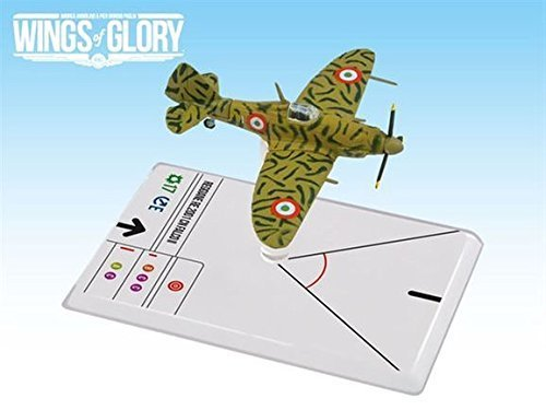 Ares Games WGS104B - Wings of Glory WW2, Reggiane Re2001 Falco II Cerretani