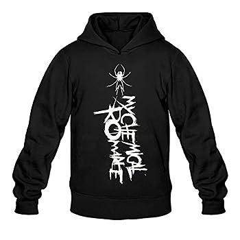 DVPHQ Men s Custom My Chemical Logo Romance Sweater Size L Black