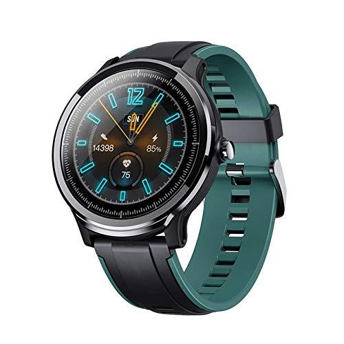 YZK Reloj Inteligente Reloj Deportivo Multifuncional Impermeable Pulsera De La Pantalla Táctil De 1.3 Pulgadas Monitoreo Inteligente De Monitoreo De La Pantalla,A