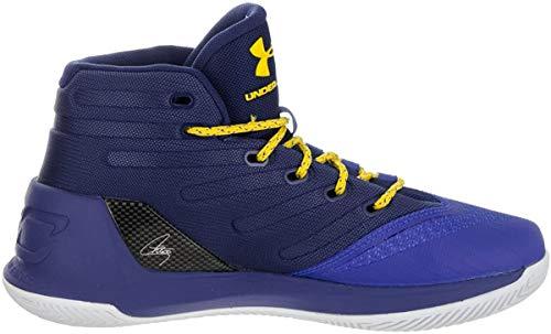 Under Armour GS Curry 3 Junior Basketballschuhe, Blau - blau - Größe: 35.5 EU