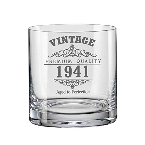 Vintage 1941 80th Birthday Bohemia - Vaso de whisky