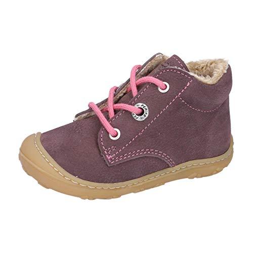RICOSTA Kinder Lauflern Schuhe CORANY von Pepino, Weite: Mittel (WMS),terracare, Kinder-Schuhe Spielen detailreich,Plum,22 EU / 5.5 Child UK