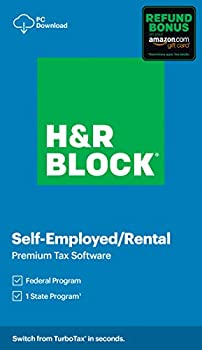 H&R Block Tax Software Premium 2020 with 3.5% Refund Bonus Offer  Amazon Exclusive  [PC Download]